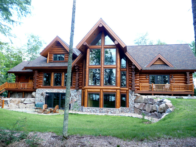 best log cabin designs